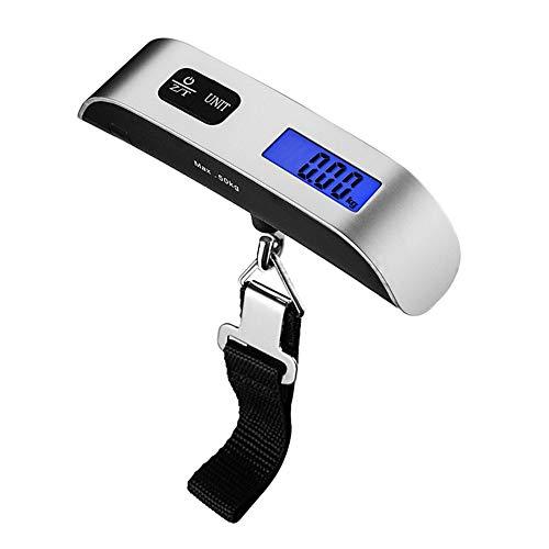 Báscula Electrónica Portátil para Equipaje Mini Báscula Electrónica Báscula Electrónica Portátil 50 Kg Viajes Al Aire Libre,C