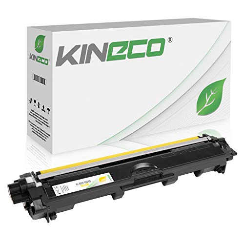Kineco Toner kompatibel für Brother TN-245 TN245 für Brother MFC-9142CDN, Brother DCP-9022CDW, MFC-9342CDW, MFC-9332CDW, HL-3150CDW, HL-3170CDW - TN-245Y - Yellow 2.200 Seiten