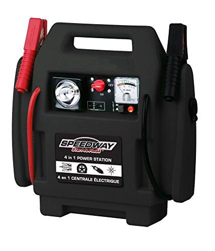 Sale!! Speedway 7226 4 In 1 Powerstation-Inflator, Jumpstarter, 12-Volt Outlet Light