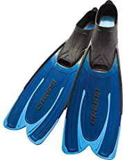 Cressi Agua, Pinne Self Adjusting per Immersioni, Snorkeling e Nuoto Unisex Adulto