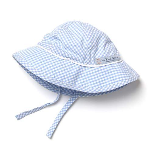 LePetitBeurre Sonnenhut Baby Sonnenschutz für Mädchen und Jungen mit Nackenschutz