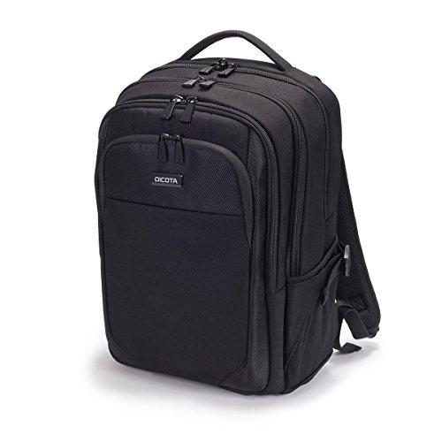 DICOTA Backpack Performer (für Notebooks bis 39,6 cm) Rucksack mit vier Hauptfächern