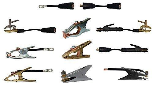 Massekabel H01N2D mit einem Schweisskabelstecker 13mm Dorn & M10 Kabelschuh mit vielen Varianten zur Auswahl in 10-95 mm² 4, 5 oder 10 Meter