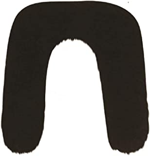 Mens Black Stick On Fake False Black Mexican Bandit Fancy Dress Costume Moustache