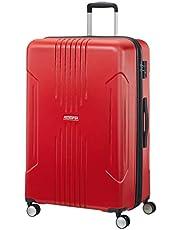 American Tourister Tracklite - Bagaglio a Mano, L (78 cm - 120 L), Rosso (Flame Red)