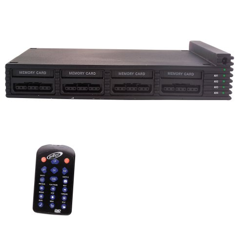 AV Selector+Multitap für PS2 Slim + Fernbedienung