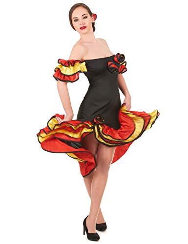 DEGUISE TOI Déguisement Danseuse Flamenco Femme - Small