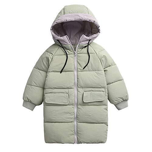Manteaux bébé, YUYOUG Blouson Manteau Enfant Garçon Fille Mélangées à Capuche - Veste à Manches Longues Sport bébé Ski Vêtement (3-4 Ans, Green)