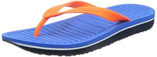 Adidas pour homme Neo V Tongs - - Blue / Solar Orange,