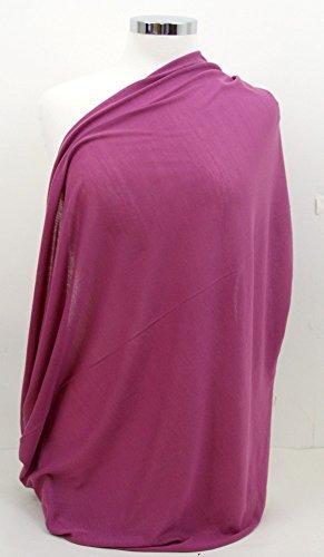 Infinity Nursing Scarf Breastfeeding Cover (Plum Purple)
