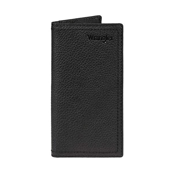 Wrangler Men's Leather Rodeo Wallet