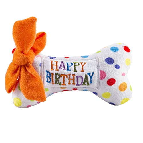 Haute Diggity Dog Yip Yip Hooray Collection   Unique Squeaky Parody Plush Dog Toys – Celebrate with Pupcakes!