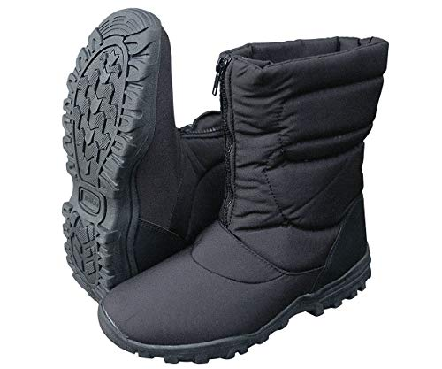 CN Outdoor - Paire de Boots CANADIENNES 100% Sports d'hiver - avec Fermeture-éclair Frontale - 44 EU