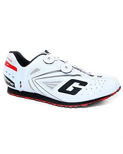 Gaerne G.Chrono Podium Zapatillas, Blanco - Blanco, 45