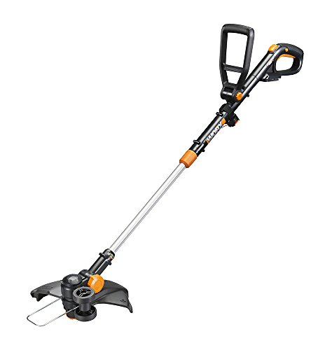 WORX WG170 GT Revolution 20V 12' Grass Trimmer/Edger/Mini-Mower 2 Batteries & Charger Included, Black and Orange