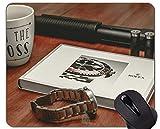 Alfombrilla de ratón con Borde de Bloqueo, Control de Armas en la Alfombrilla de ratón de Oficina de América Rolex