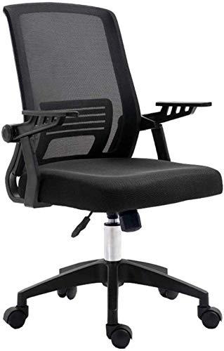 Silla de juego Silla de oficina de malla Silla plegable del reposabrazos para la silla de la silla de la computadora con soporte lumbar Rotating Comfort Asiento de la inclinación de la función de incl