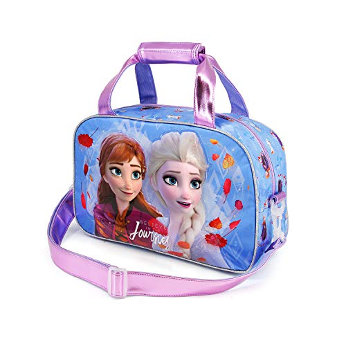 Karactermania Frozen 2 Journey - Bolsa de Deporte, Multicolor