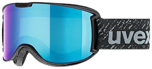 uvex Unisex– Erwachsene, skyper LM Skibrille, black mat, one size