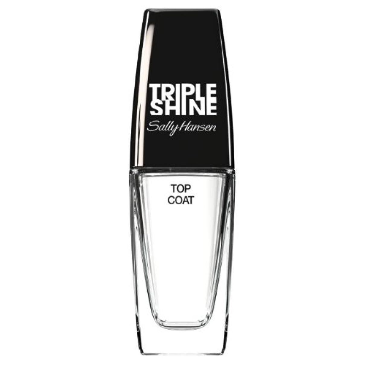 未就学液化する安全でない(3 Pack) SALLY HANSEN Triple Shine Top Coat - Triple Shine Top Coat (並行輸入品)