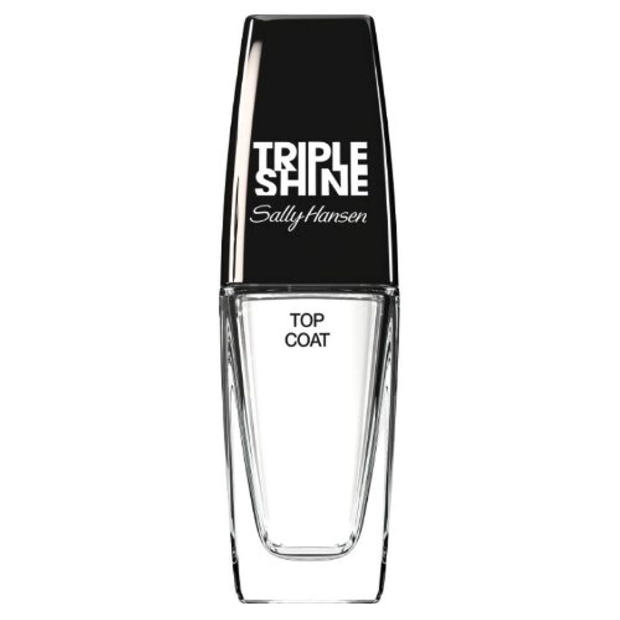 全滅させる合併症敵意(3 Pack) SALLY HANSEN Triple Shine Top Coat - Triple Shine Top Coat (並行輸入品)