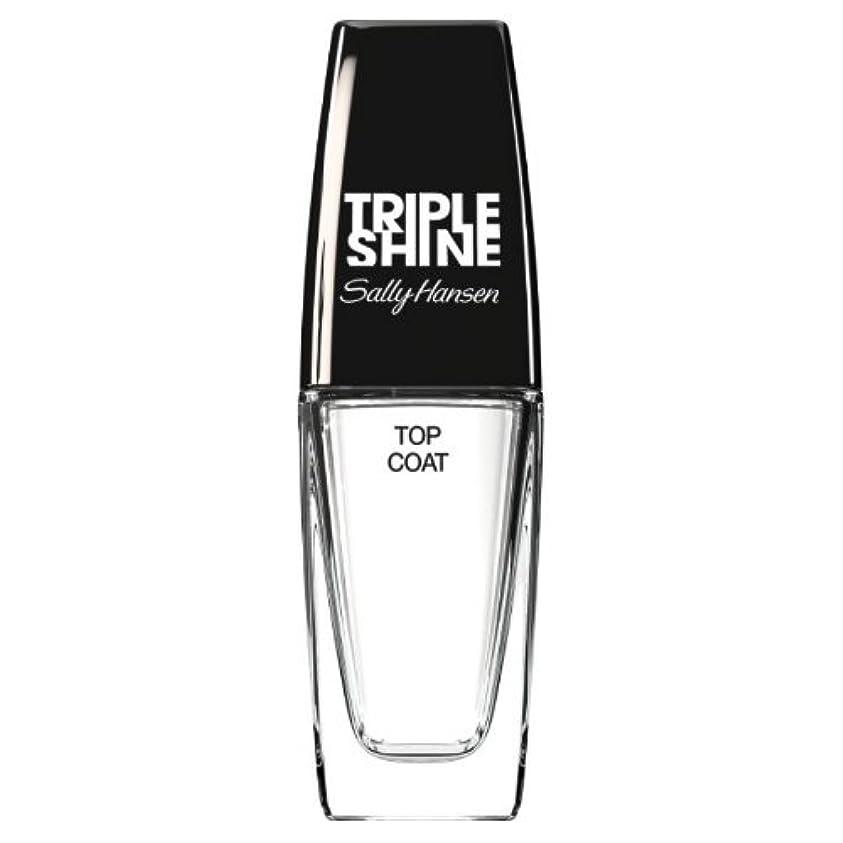 姿勢不可能な消化器(3 Pack) SALLY HANSEN Triple Shine Top Coat - Triple Shine Top Coat (並行輸入品)
