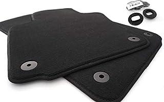 Fußmatten passend für Passat 3C B6 B7 Velours Set Automatten 2 teilig vorn