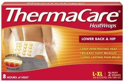 Buy Bargain ThermaCare Lower Back & Hip Heat Wraps, Large-XL - MS80388 (4 Pouches)
