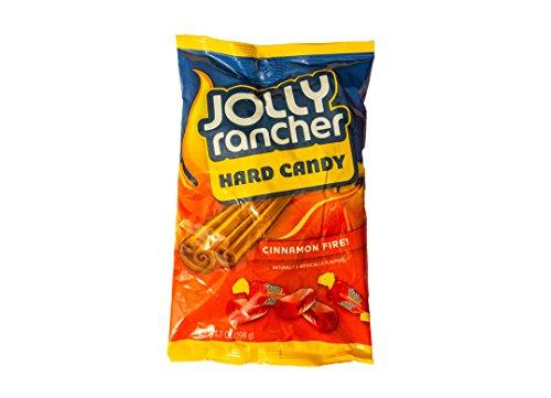 Jolly Rancher Cinnamon Fire! Hard Candy-Peg Bag, 7-Ounce Bag by The Hershey Company