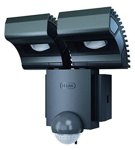 Osram LED Spot, Noxlite, Außenlampe, kippbar, Bewegungsmelder, Dämmerungssensor, Warmweiß- 3000K, Duo