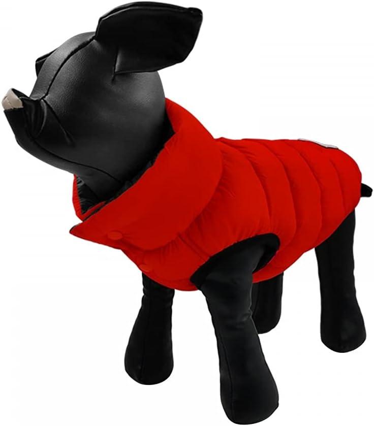 Pet Down Coat Dogs Warm Jacket New arrival Double Dog Waterproof Side Regular dealer