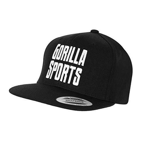 Gorilla Sports The Classic Snapback Cap - Casquette Noir