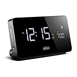 Braun – Multi-Function Smartphone Compatible Bluetooth Alarm Clock