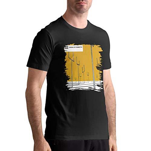 Cotton Muse Origin of Symmetry Mens T Shirts Man Tshirts Black 6XL