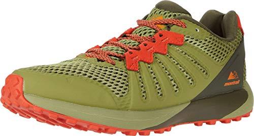 Columbia Montrail Men's F.K.T. Hiking Shoe, Cool Moss/Valencia, 7.5 Regular US