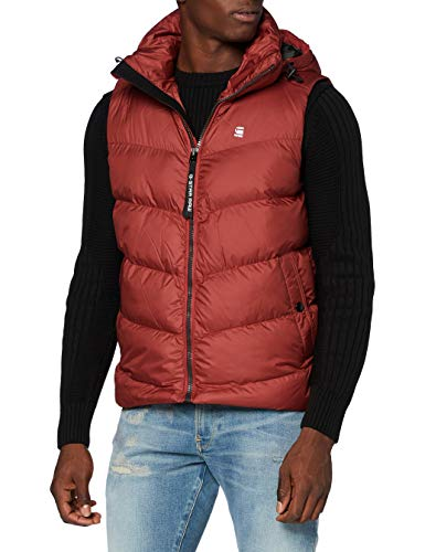 G-STAR RAW Herren Jacket Whistler hdd, Dry Red B958-5298, XX-Large