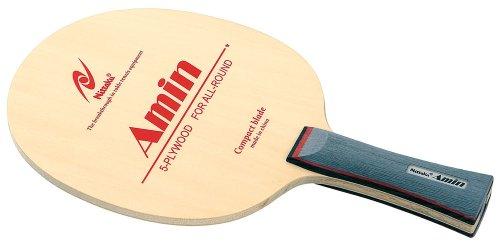 Nittaku アミン FL 卓球 ラケット シェークハンド 攻撃用 5枚合板 スポーツ用品