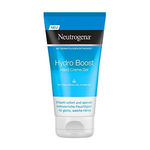 Neutrogena Hidro Boost Hand Crema Gel, Ácido Hialurónico Complejo, 2er Pack (2 x 75 ML)