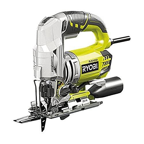 Ryobi 680 W Pendelhub-Stichsäge RJS1050-K (Sichsäge / Säge inkl. Stichsägeblatt, Koffer) 5133002219