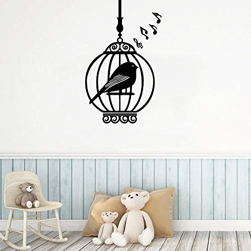 Creative bird wallpaper stickers decoración familiar pegatinas de pared decoración de pared de estilo infantil 43cm X 77cm