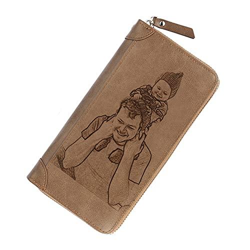 Personalized Photo Wallet & Vintage Purse