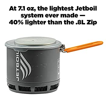 Jetboil Stash Ultralight Camping and Backpacking Stove Cooking System Réchaud de randonnée Mixte, métal, None Or Other