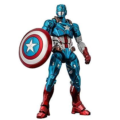 ファイティングアーマー キャプテン・アメリカ ノンスケール ABS&ダイキャスト製 塗装済み完成品 アクションフィギュア