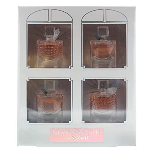 Lancôme La Vie Est Belle Eau De Parfum 4 Piece Gift Set: 2 x Eau De Parfum 4ml - 2 x L'Eclat Eau De Parfum 4ml