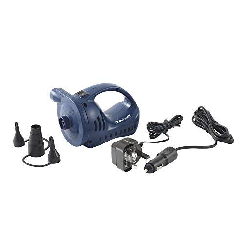 Outwell Pompe à air rechargeable 12 V/230 V pour matelas gonflables