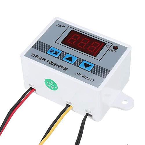 DollaTek XH-3002 AC 220v professional w3002 controlador de temperatura led digital regulador de termostato 10a