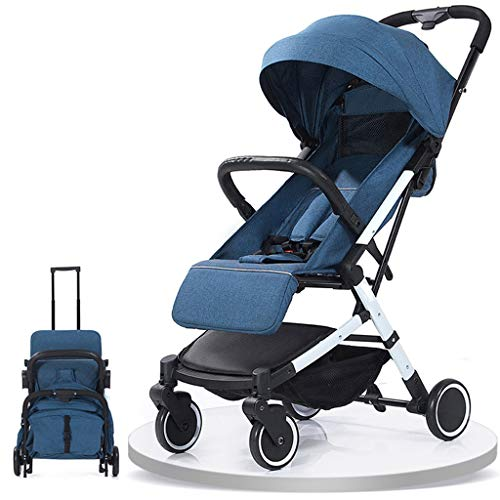 Great Deal! DWW Outdoor Portable Fold Baby Stroller 5-Point Safety Harness, UV Protection Canopy, Li...