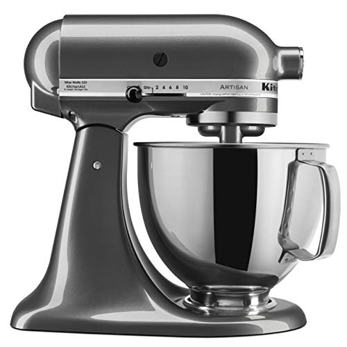 KitchenAid Artisan Series Stand Mixer with Pouring Shield, 5-Qt., Liquid Graphite