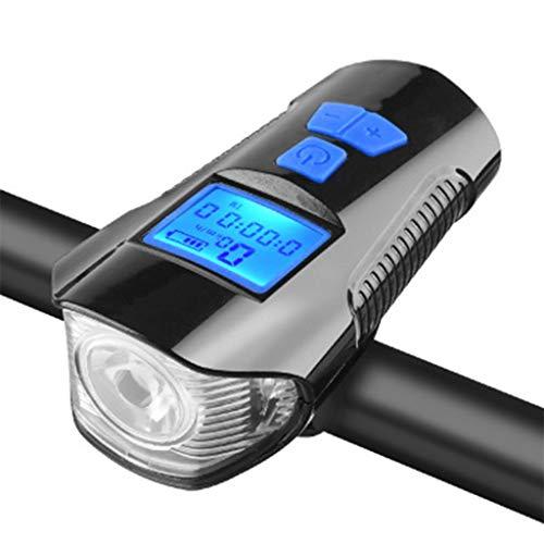 JSY Lumière de vélos Phare de Charge Glare Night Ride Lampe de Poche Set équitation Équipement VTT Accessoires Vélo Sets d'éclairage Avant et arrière