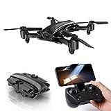 ANAN Plegable Dron, Drone con Camara 1080P HD, Duración Batería 16 Minutos, Señalando Vuelo, Seguimiento Inteligente, Se Puede Utilizar con Gafas Realidad Virtual
